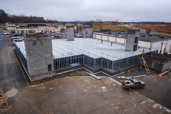 Industrial Construction Photography